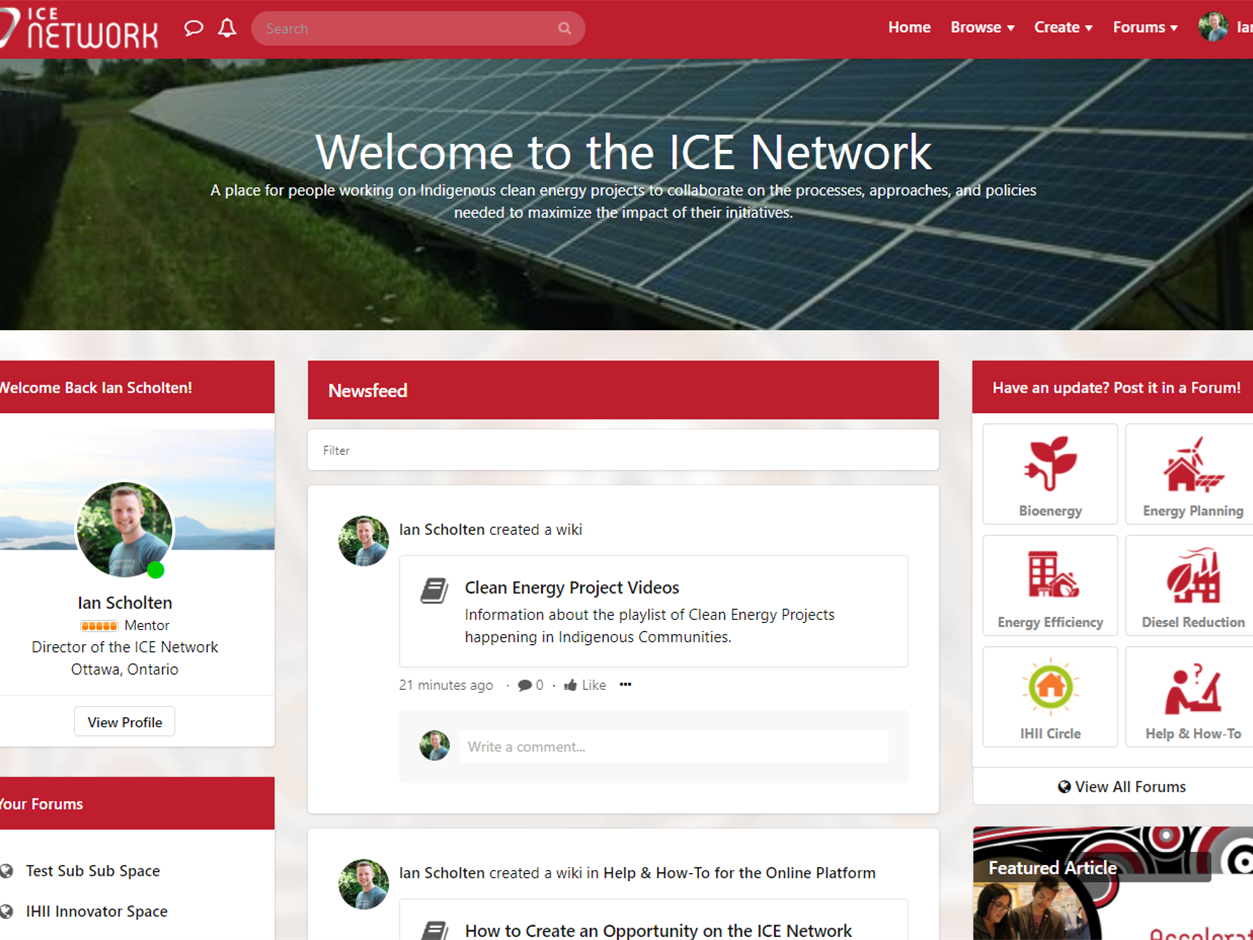 Welcome to a Fresh, Revamped ICE Network!