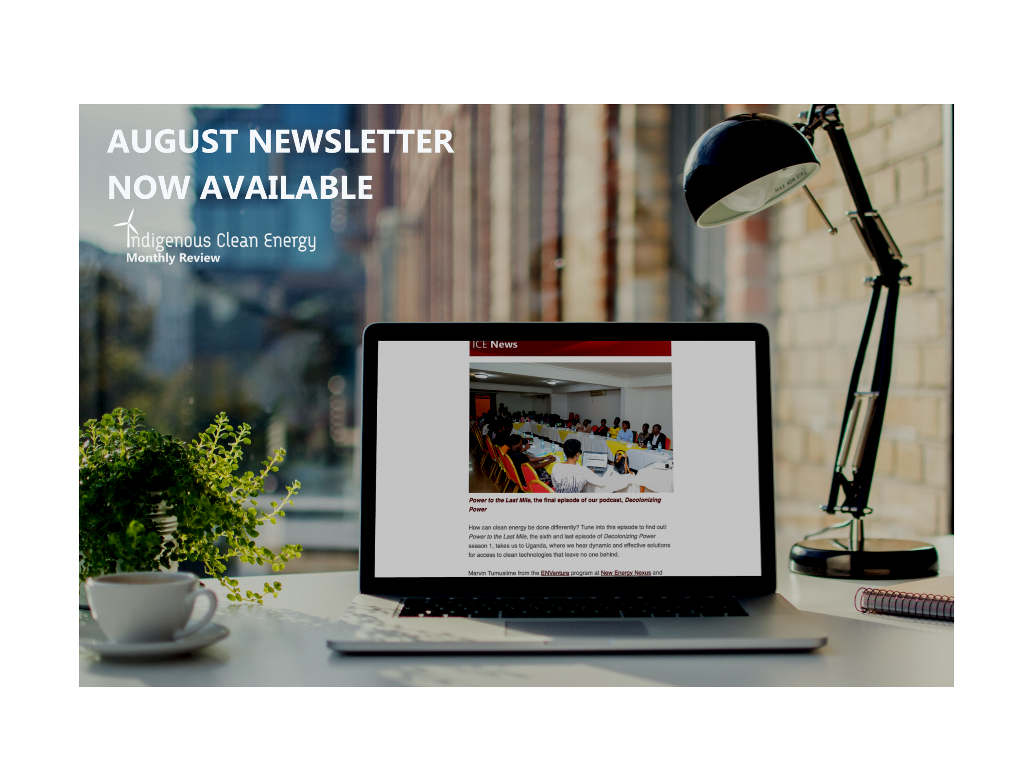 Have you checked ICE's latest newsletter?