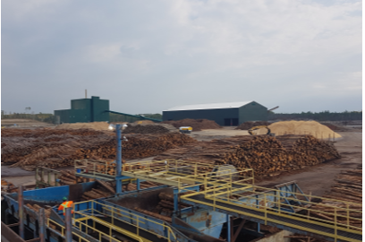 Hornepayne Power Inc., located in Hornepayne, Ontario, is a green energy cogeneration facility that uses sawmill and logging wood by-products to generate electricity for Ontario's provincial power grid, and steam heat for the nearby sawmill and kiln operations.