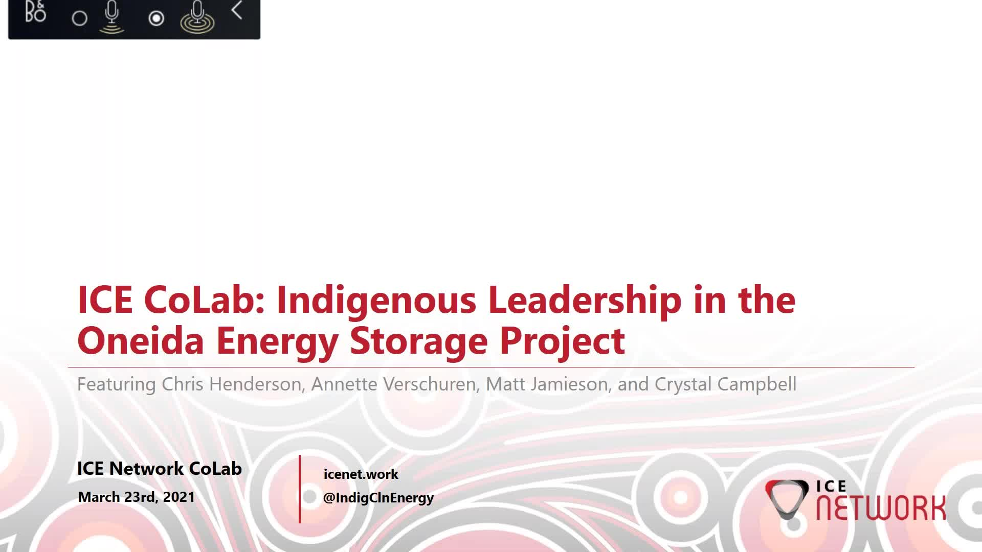 Indigenous Leadership in the Oneida Energy Storage Project